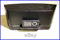 Sirius XM SUBX3C Boombox Speaker System & Onyx Plus Satellite Radio Receiver +