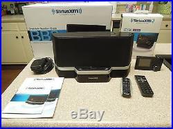 Sirius XM SXABB2 Portable Speaker Dock & Sirius XM EDGE Radio with Home Kit