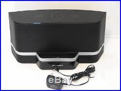 Sirius XM SXABB2 Satellite Radio Receiver Portable Speaker Dock With AC Adapter