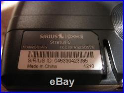 Sirius XM Satellite Radio Lifetime Subscription Stratus 6 SDSV6 SUBX1 Boombox