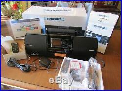Sirius XM Satellite Radio Portable Sound System Dock & Play For Satellite Radios