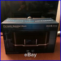 Sirius XM Satellite Radio Portable Speaker Dock Great Condition LIFETIME SUB