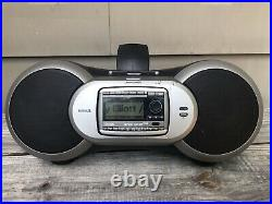Sirius XM Satellite Radio Sportster Boombox & SP-R2 Receiver Active Lifetime