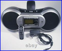 Sirius XM Satellite Radio Sportster SP-B1a Boombox with SP-R2 Receiver, Lifetime