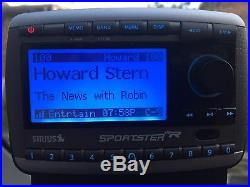 Sirius XM Satellite Radio Sportster SP-R2 Active, Lifetime Subscription HOWARD