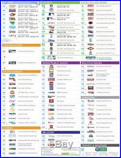 Sirius XM Satellite Radio Sportster SP-R2 Active Lifetime Subscription Remote