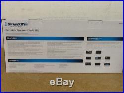 Sirius XM Set SD2 Portable Speaker Dock And Onyx EZ Vehicle Dock & Play (lgb)