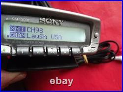 Sirius XM Sony Satellite Radio Reciever DRN-XM01 Only LIFETIME SUBSCRIPTION