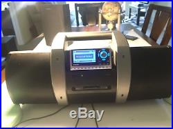 Sirius XM Sp4 Satellite Radio & Boombox With LIFETIME Subscription Howard Stern
