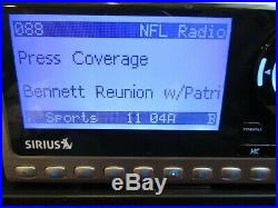 Sirius XM Sportster 4 Satellite Radio With Possible LIFETIME Subscription SP4