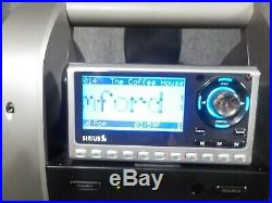 Sirius XM Sportster SP4-TK1R Receiver & SUBX1R Boombox withActive Subscription