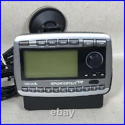 Sirius XM Sportster SP-R2 LIFETIME SUBSCRIPTION Radio Receiver With Mount