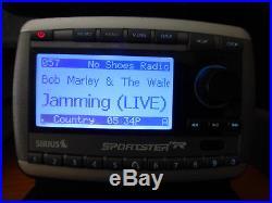 Sirius XM Sportster SP-R2 Satellite Radio with Guaranteed LIFETIME SUBSCRIPTION