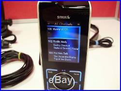 Sirius XM Stiletto 100 Personal Satellite Radio + Extras Lifetime Subscription