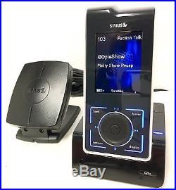 Sirius XM Stiletto 100 Satellite Radio SL100 with LIFETIME SUBSCRIPTION + Home Kit