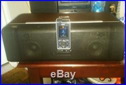 Sirius XM Stiletto 10 Portable Satellite Radio Receiver + Remote + Boom Box