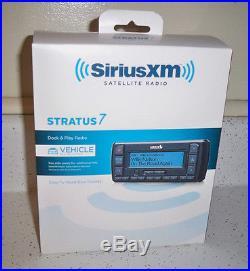 Sirius XM Stratus 7 Car Satellite Radio Brand New with Vehicle Kit SSV7V1