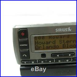 Sirius XM Stratus SV3R Satellite Radio Receiver With LIFETIME Subscription-Howard+