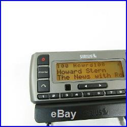 Sirius XM Stratus SV3 Satellite Radio Receiver With LIFETIME Subscription-Howard+