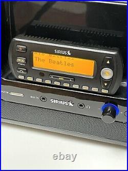 Sirius XM Stratus SV4 Lifetime Subscription Radio with SubX2 Boombox SXSD2
