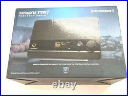 Sirius XM TTR1 SiriusXm Tabletop Internet Radio Audio Alarm Clock New in box