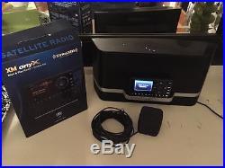 Sirius XM XDNX1 Onyx Radio, SXABB1 Portable Speaker, Vehicle Kit, 25ft Antenna