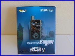 Sirius XM XMP3I MP3 Satellite Portable Radio Receiver + Home Kit XPMP3H1