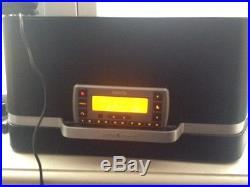 Sirius XM satellite radio receiver with boombox, car kit & LIFETIME subscription