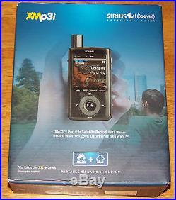 Sirius XMp3i Portable Satellite Radio & MP3 Player & Home Kit NEW