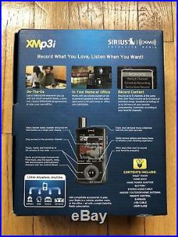 Sirius XMp3i Portable XM Radio + Home Kit Model XPMP3H1