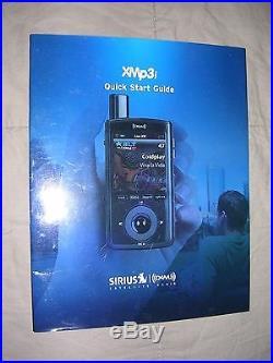 Sirius XMp3i Satellite Radio Model #XPMP3H1