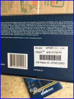 Sirius XPMP3H1 XM Sirius Portable Satellite Radio Receiver XMP3i with Home Kit