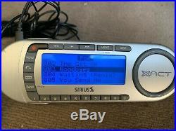 Sirius Xact XTR8 satellite radio receiver with LIFETIME subscription
