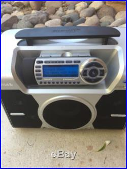Sirius Xm St2 Starmate With Lifetime Subscription And Boombox Docking Radio 1-172