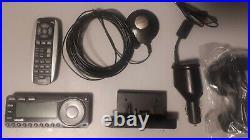 Sirius satellite radio kit with LIFETIME SUBSCRIPTION, dock, antenna, remote