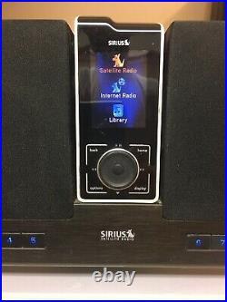 Sirius satellite radio stiletto executive dock