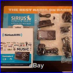 Sirius-xm Starmate 8 Dock & Play Radio With Power Connect Car Kit Sealed