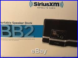 Sirius xm portable speaker dock SXABB2