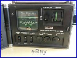 Sony ICF-7800 3-Band-Radio Weltempfänger Reiseradio vintage world receiver 1978
