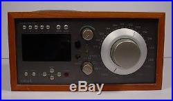 TIVOLI Audio Model Sirius Satellite AM FM Table Top Radio, Works & Sounds Great