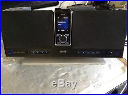 Used SIRIUS STILETTO SL10 SL100 EXECUTIVE BOOMBOX slex1 SOUND SYSTEM SL EX1
