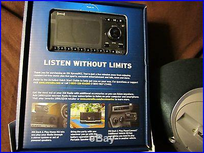 XM EXPRESS, SIRIUS, DOCK AND PLAY CAR RADIO WITH CARRY ANYWHERE ALTEC LANSING DO
