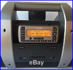 XM Sirius Satellite Radio Lifetime Subscription Sportster SV3R & Subx1r Boombox