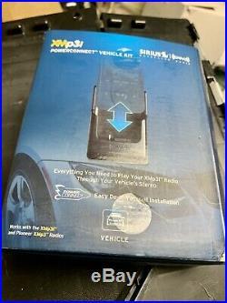 XMp3i Sirius XM Portable Satellite Radio Receiver + POWERCONNECT VEHICLE KIT